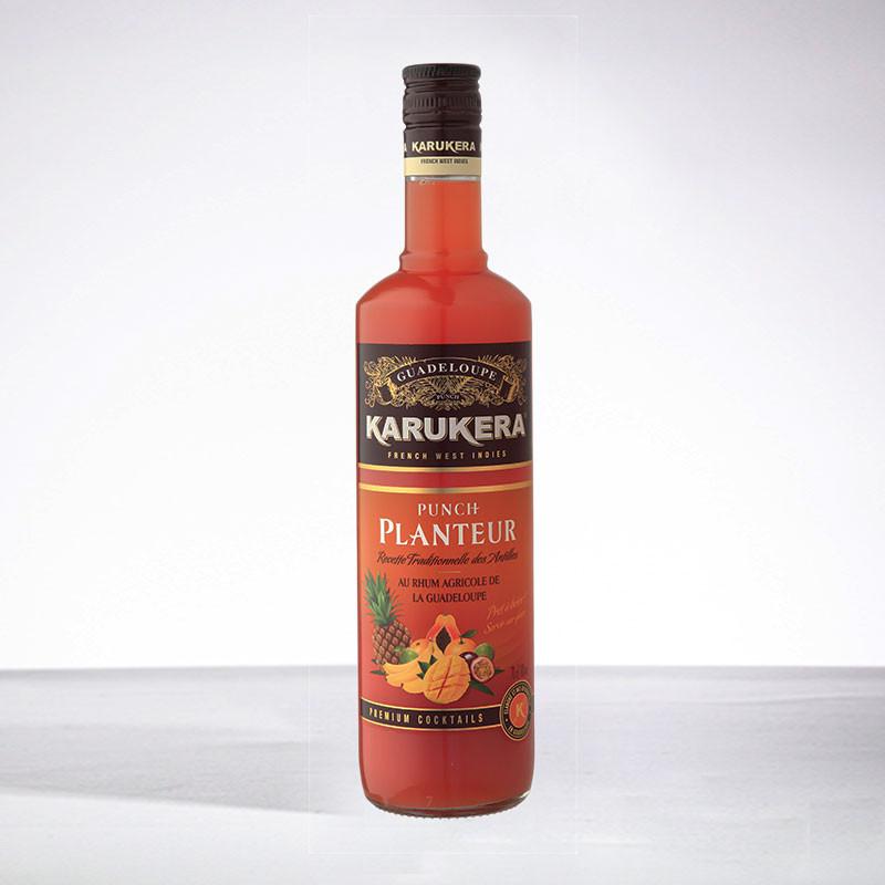 rhum KARUKERA - Punch Planteur - Liqueur - 18° - 70cl