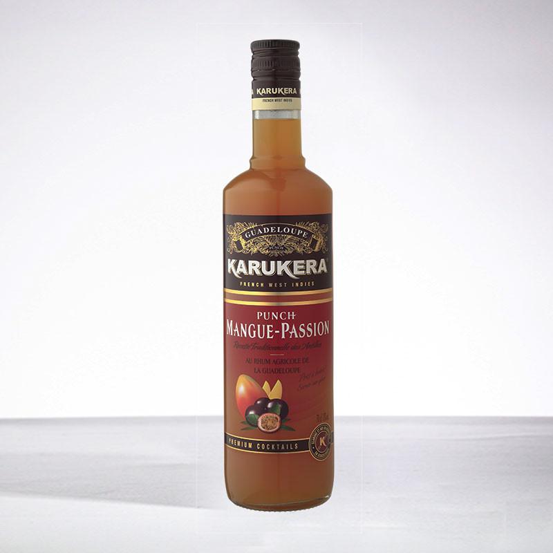 punch KARUKERA - Punch Mangue Passion - Liqueur - 18° - 70cl