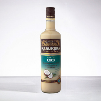 punch KARUKERA - Punch Coco - Liqueur - 18° - 70cl