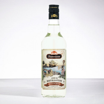 rhum DAMOISEAU - Cuvée Distillateur - Rhum blanc - 55° - 70cl