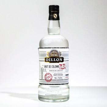 DILLON - Brut de colonne - Rhum blanc - 71,3° - 70cl