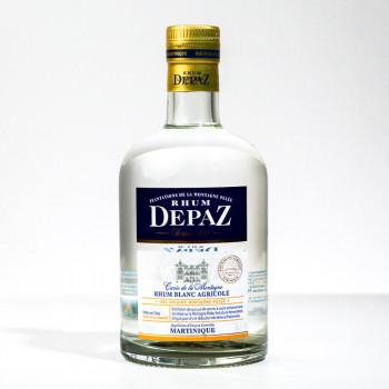 rhum DEPAZ - Plantation montagne Pelée - Rhum blanc - 45° - 70cl