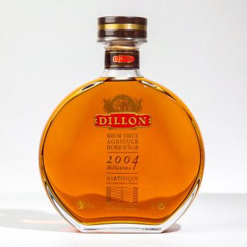 Rhum DILLON - Millésime 2004 - XO Rhum