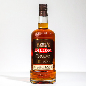 DILLON - VSOP - Sehr alter Rum - 43° - 70cl