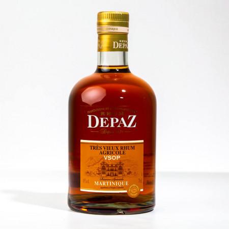 DEPAZ - VSOP - Réserve spéciale - 7 ans - Rhum très vieux - 45° - 70cl
