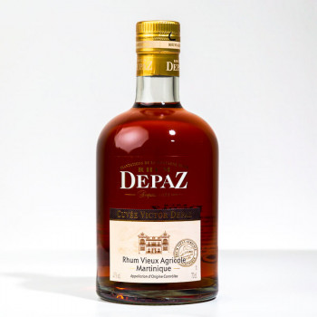 DEPAZ - Cuvée Victor Depaz - Rhum vieux - 41° - 70cl