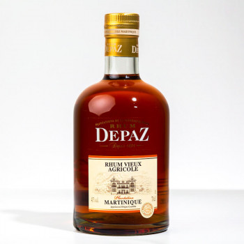DEPAZ - Plantation - Rhum vieux - 45° - 70cl