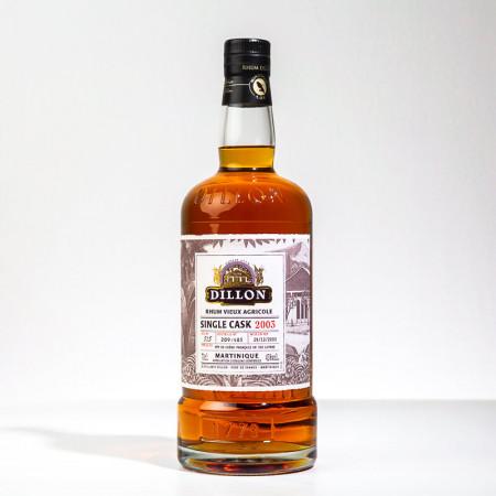 DILLON - Millésime 2003 - Single cask - Extra alter Rum - 45° - 70cl