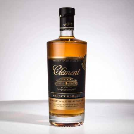 CLEMENT - Select Barrel - Rhum ambré - 40° - 70cl
