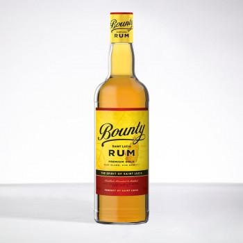 Rhum BOUNTY - Gold - Rhum ambré - 40° - 70cl