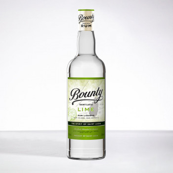 BOUNTY rum - Lime - Liqueur - 25° - 70cl