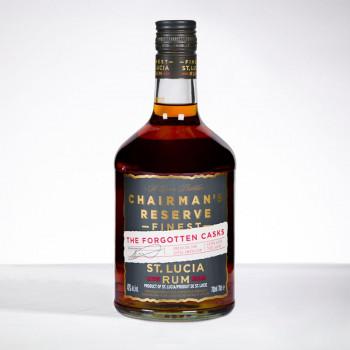 CHAIRMAN'S rum - Forgotten Cask - Rhum hors d'âge - 40° - 70cl