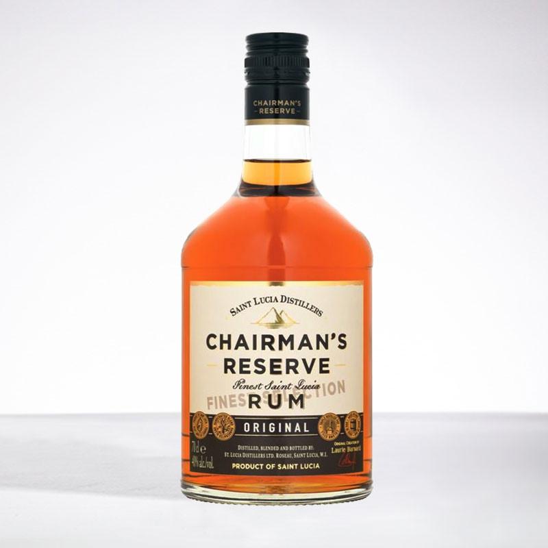 CHAIRMAN'S rum - Original - Rhum vieux - 40° - 70cl