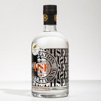 rhum HSE - Cuvée de l'an 2016 - Rhum blanc de martinique