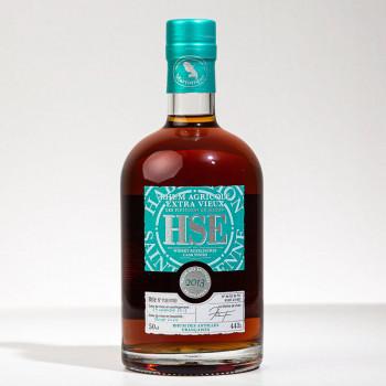 rhum HSE - Millésime 2013 - Whisky Rozelieures Cask Finish - 44° - 50cl