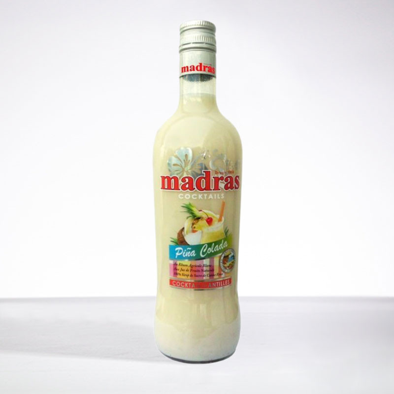 punch MADRAS - Punch Pina Colada - Liqueur - 18° - 70cl