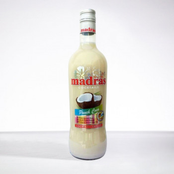 punch MADRAS - Punch Coco - Liqueur - 18° - 70cl