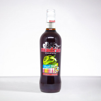 punch MADRAS - Shrubb - Liqueur - 18° - 70cl