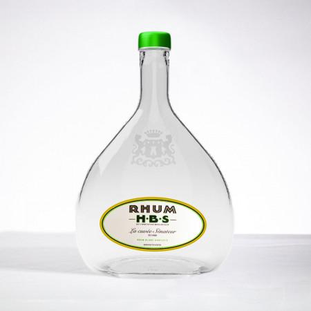 Rhum HBS - La Cuvée Sénateur - Nummeriert - Weisser Rum - 55° - 70cl