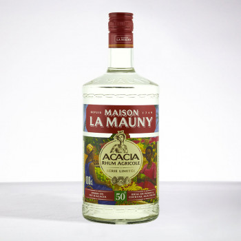 Rhum LA MAUNY - Acacia - Rhum blanc - 50° - 100cl
