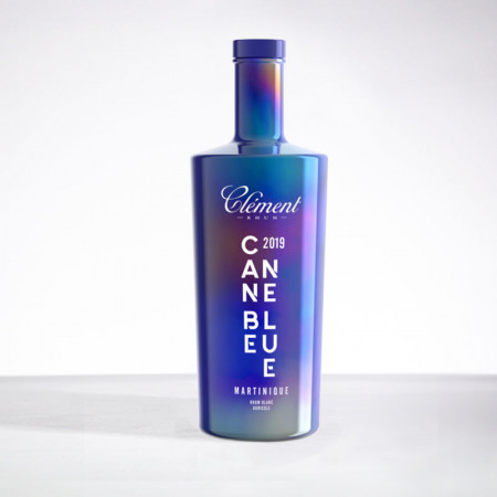 CLEMENT - Canne Bleue - Millésime 2019 - Rhum blanc - 50° - 70cl