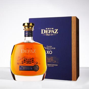 Coffret DEPAZ - XO - Coffret Cuvée Prestige - Rhum hors d'âge - 45° - 70cl