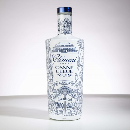 CLEMENT - Canne bleue 2018 - Rhum blanc - 50° - 70cl