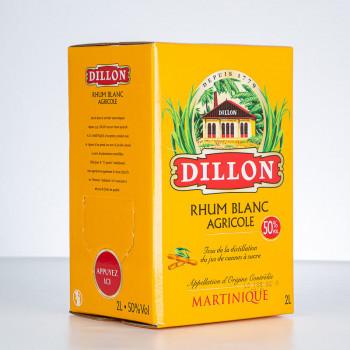 DILLON - Rhum blanc - Cubi - 50° - 200cl