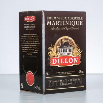 DILLON - Rhum vieux - Cubi - 43° - 200cl
