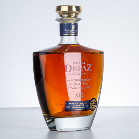 DEPAZ - XO - Rotary 50 ans - Sehr Alter Rum - 45° - 70cl