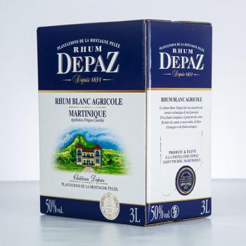rhum DEPAZ - Rhum blanc de Martinique