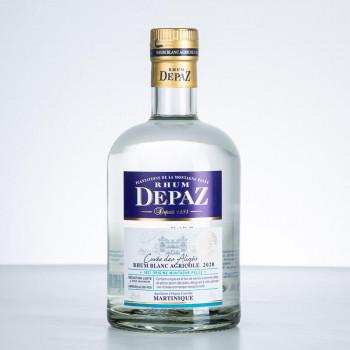 DEPAZ - Cuvée des Alizés - Rhum blanc - 45° - 70cl
