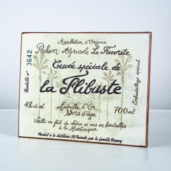 LA FAVORITE - Plaque La Flibuste - goodies