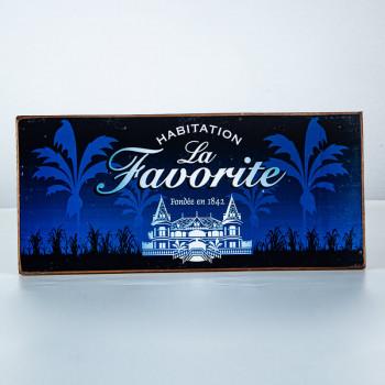 LA FAVORITE - Plaque bleue Habitation - goodies