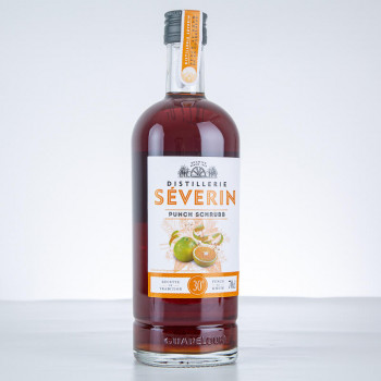 DISTILLERIE SÉVERIN - Punch Shrubb - Liqueur de Guadeloupe