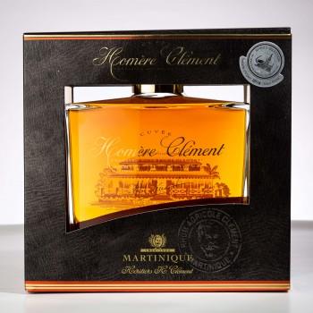 Rhum Clément - Cuvée Homère et sa boite