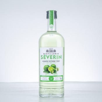 DISTILLERIE SÉVERIN - Punch Citron Vert - Liqueur - 30° - 70cl