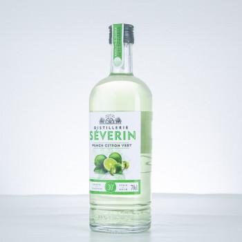DISTILLERIE SÉVERIN - Punch Citron Vert - Liqueur - 30° - 70cl - Guadeloupe
