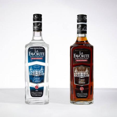 LA FAVORITE - Grands Classiques - 2x70cl - Weißer Rum / Alter Rum