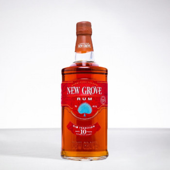 NEW GROVE - Rhum hors d'âge - Old Tradition - 10 ans - 40° - 70cl