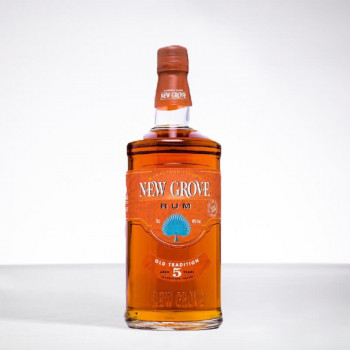 NEW GROVE - Rhum très vieux - Old Tradition - 5 ans - 40° - 70cl