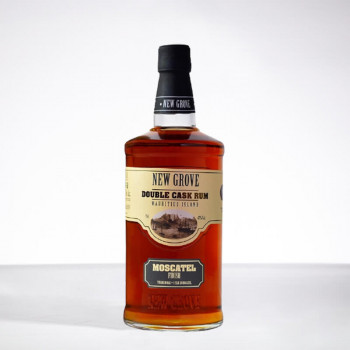 NEW GROVE - Extra Alter Rum - Double Cask Moscatel - 47° - 70cl