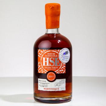 HSE - Small Cask - 2011 - Nummeriert - Extra Alter Rum - 46° - 50cl
