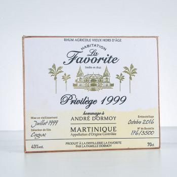 Accessoire LA FAVORITE - Plaque décorative - Privilège 1999