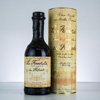 LA FAVORITE - La Flibuste - 1999 - Rhum hors d'âge de martinique - boite