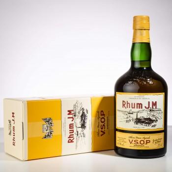 Rhum JM - Très vieux avec sa boite