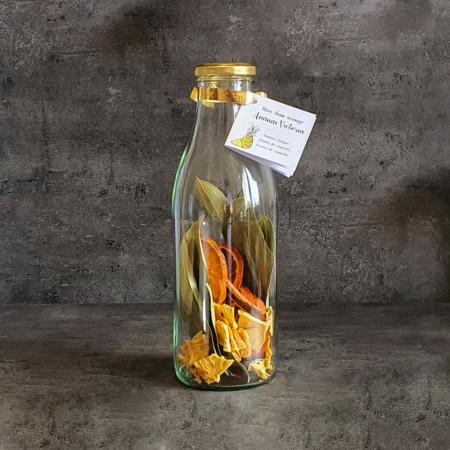 EXCEPTION D'AILLEURS - Zubereitung für arrangierten Rum in der Flasche - Ananas-Orange-Zimt