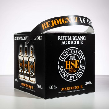 Rhum HSE - BIB - rhum blanc - 50°