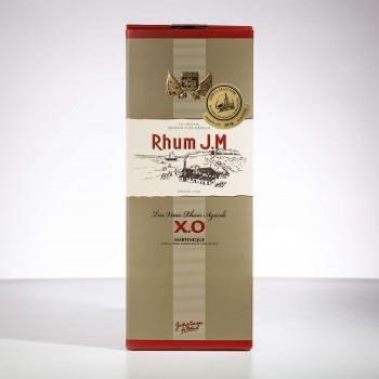 rhum XO JM avec sa boite
