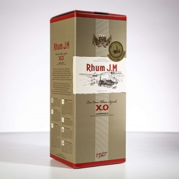 rhum très vieux XO JM - AOC avec sa boite